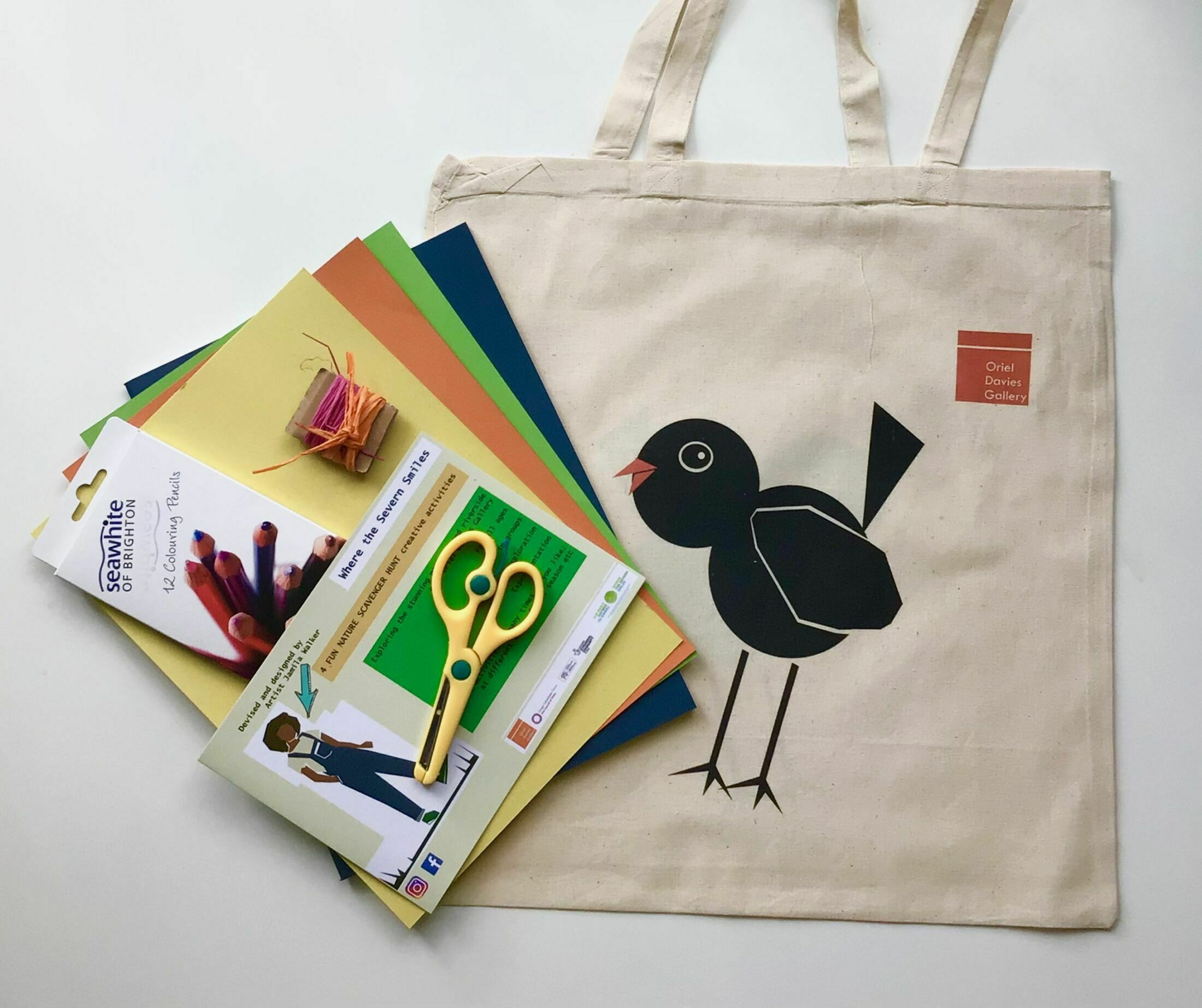 Nature Scavenger Hunt by Jamila Thomas come in a beautifully designed cotton tote bag.