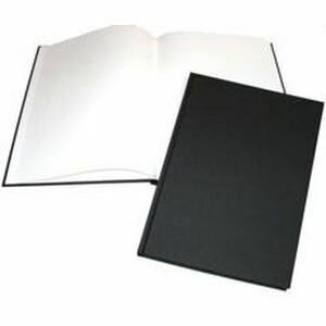 A4 Black Portrait Hardback Sketchbook