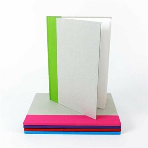A4 Hardback Sketchbook Green Spine