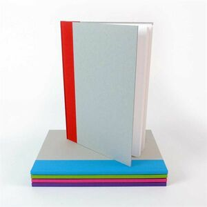 A4 Hardback Sketchbook Red Spine