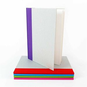 A4 Hardback Sketchbook Purple Spine