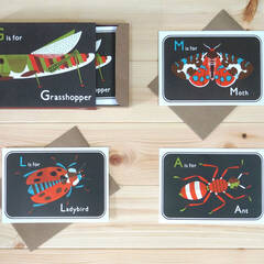 G is for Grasshopper Postcards