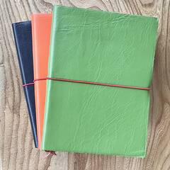 Leatherbound Sketchbook - Green